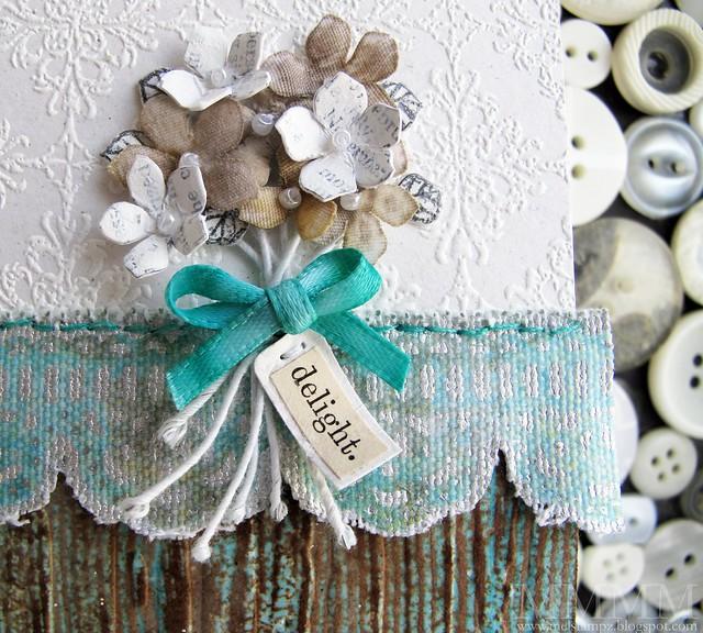 bouquet detail mel stampz