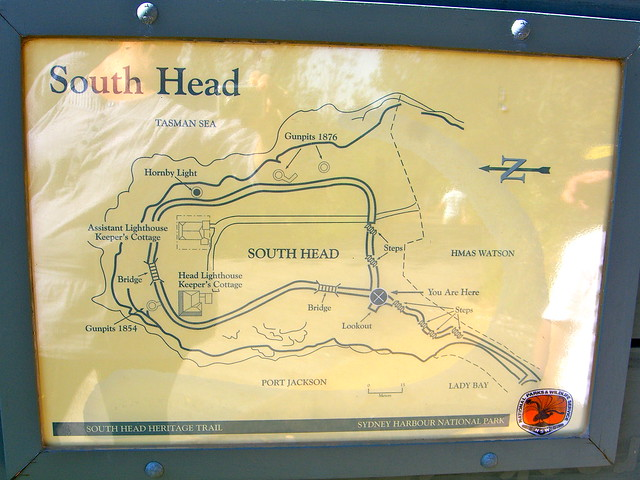 South Head Walking Trail Map