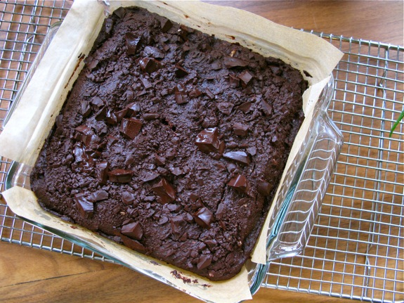 whole wheat chocolate brownies 002