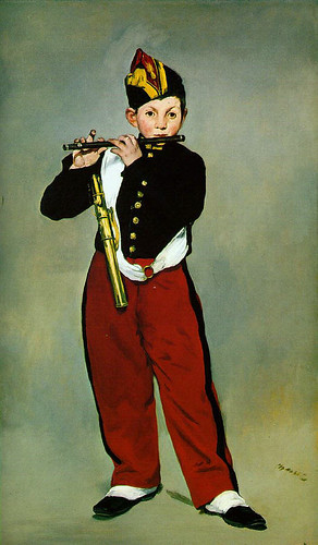 Manet, Edouard  - The young Flute Player  - 1866