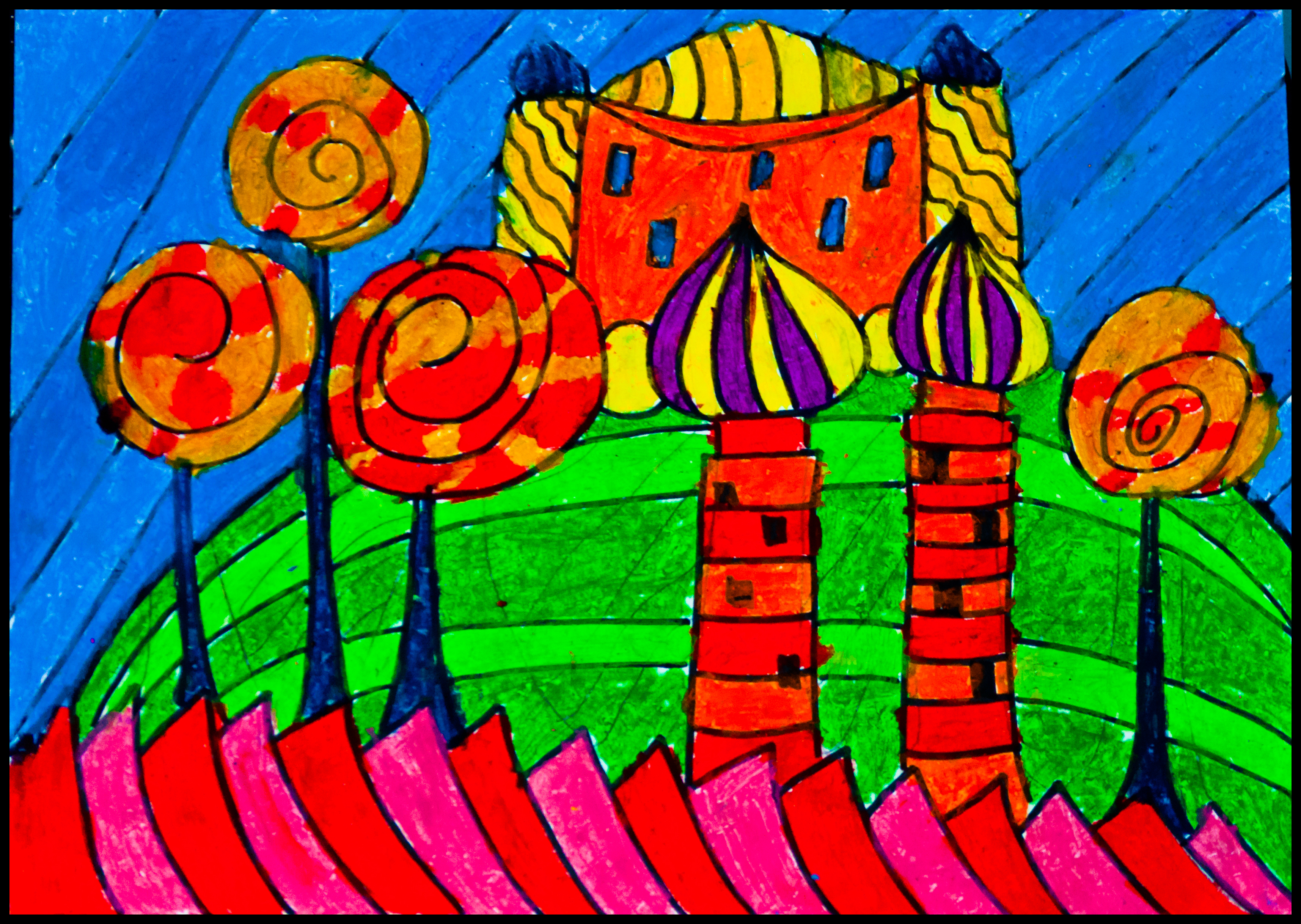 Hundertwasser, by TP- age 9 (85/365)
