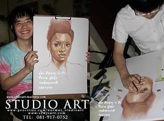 วาดเส้นคนเหมือน Portrait Drawing
