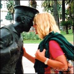 Año trás año...el17 de abril es mi cumpleaños (nuska2008) Tags: nuska2008 saariysqualitypictures cartagena murcia españa nanebotas abril cumpleaños esculturas me woman