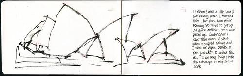 110416 Sketchcrawl 31_03 Opera House in the rain take 1