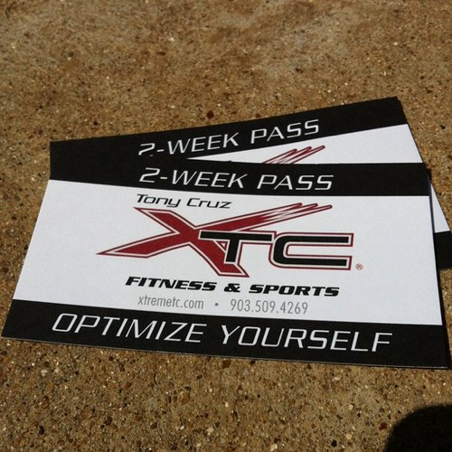 Tony Cruz XTC Fitness 2 week pass Tyler TX
