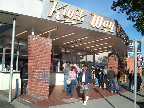 Oakland Kwik Way - Restaurant Legend Reopens