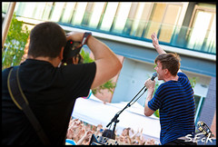 Matt And Kim (Stephen Eckert) Tags: outdoors concert live onstage mattkim mattandkim summerblockparty thepiazzaatschmidts