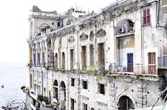 """Napoli """"Palazzo donn'Anna"""" (Dinos53) Tags: italy italia mare campania blu napoli acqua azzurro antico spiaggia nixond5000"""