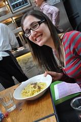 Wild truffle Tagliatelle at Jamie's Italian