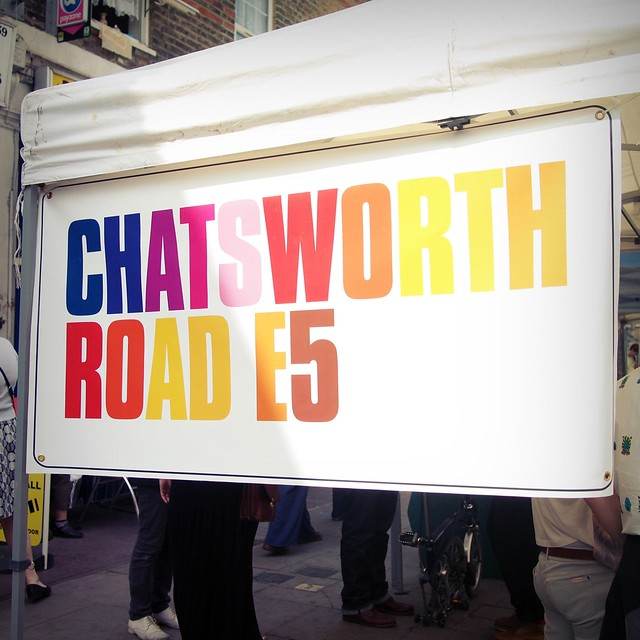 Chatsworth Road market
