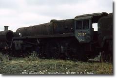 73156 16021980 (Bristol RE) Tags: barry scrapyard scrap 5mt woodhams 73156 standard5