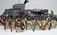 World War Two US Army (European Theatre of Operations) (PhiMa') Tags: lego wwii ww2 eto worldwar2 airbornedivision tankbattalion