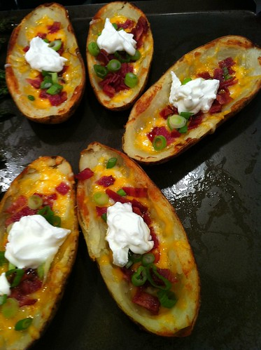 Pioneer Woman Potato Skins