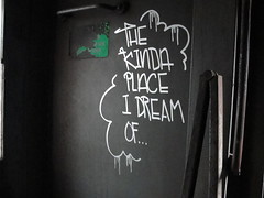 """The Kind of Place I Dream Of..."" (Same $hit Different Day) Tags: train graffiti bay sweet spot east passenger skelr"