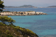 (Beach at Vourvourou) (niikos) Tags: