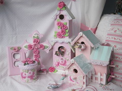 Spring Goodies from my Studio (rosechicfriends) Tags: roses hand cottage victorian made handpainted romantic chic shabby