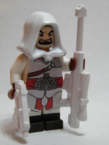 Custom minifig Angry Ezio custom minifig