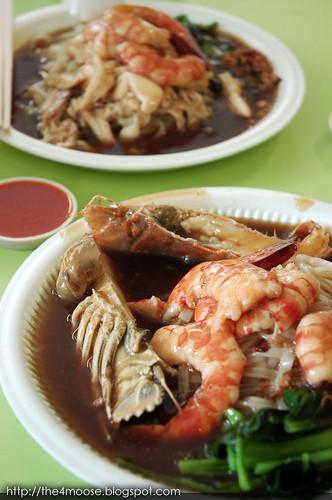 Tuck Kee (Ipoh) Sah Hor Fun - Crayfish Hor Fun