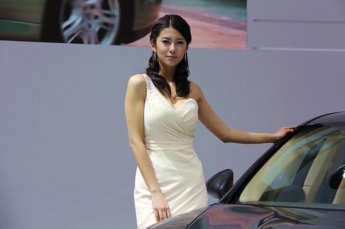 上海车展之靓丽车模