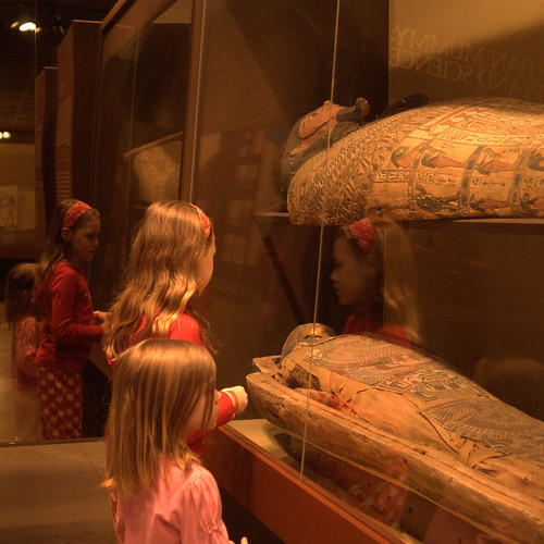 Looking at a Mummy