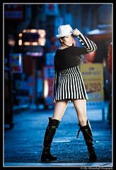 Asuka @ Sannomiya / 三宮 (Ilko Allexandroff / イルコ・光の魔術師) Tags: park street light portrait people woman white black slr art girl beautiful fashion japan umbrella canon shopping dark hair asian photography google interesting glamour women natural emotion bokeh good feminine awesome flash explore more most kobe portraiture 大阪 mostinteresting ambient topv osaka dslr asuka hdr 公園 関西 人 ポートレート 写真 obp nakagawa naniwa ilko asianbeauty 50d キャノン kitashinchi なにわ strobist canon50d 北新地 関西学院 関西学院大学 beautyshoots mygearandme mygearandmepremium allexandroff イルコ グラマー imghp 中川飛鳥