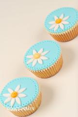 Blue Cupcakes (periza11) Tags: cakes cake dessert cupcakes decoration cupcake decorating cakedecoration ridha cupcakedecoration ridhastreats ridhasoemansyha