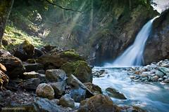 waterfall (tobiviereinseins) Tags: sun mountains alps nature water landscape austria waterfall spring hiking natur berge alpen fluss landschaft wandern frhling 450d