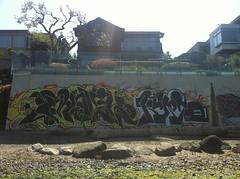 Molak Kurto (shit eh) Tags: street house canada art ass beach vancouver graffiti nice columbia production british molek kurto
