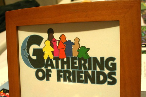 Gathering Of Friends sign