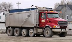 Sterling Dump Truck (Winglet Photography) Tags: road wisconsin truck construction highway tipper dumptruck dump machinery dirt builders sterling twinlakes build heavy dig roadwork digger builder 41 oshkosh stockphoto construct georgewidener georgerwidener