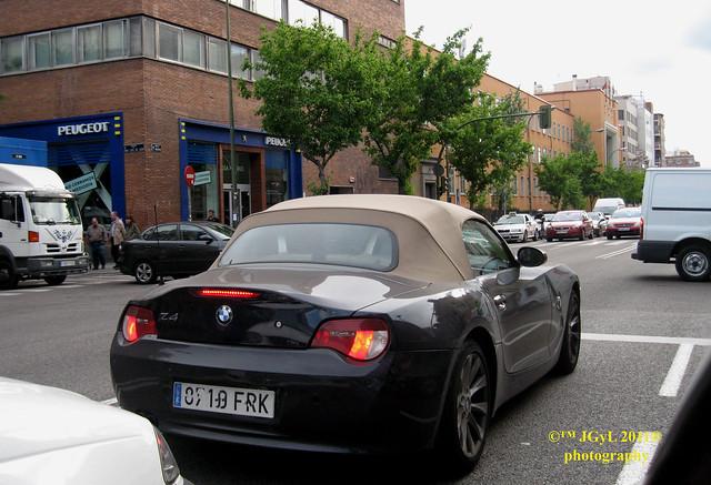 madrid bmwz4 2011