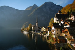 Hallstatt [No Post Processing] (Yohsuke_NIKON_Japan) Tags: lake cute beautiful austria sterreich nikon europe village sigma lakeside d100 pure obersterreich smalltown gettyimage salzkammergut hallstatt