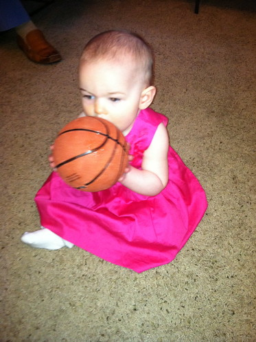 Janie and basketball