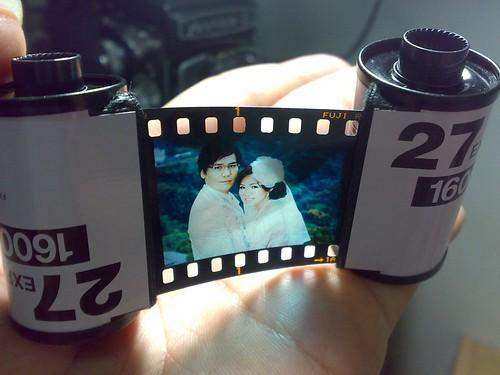 同學結婚的小禮物--夢幻正片製作