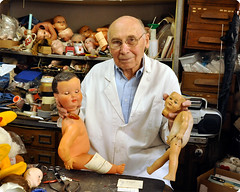 Henri Launay and his wonderful dolls' hispital