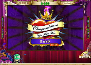 free Hot Ink free spins win