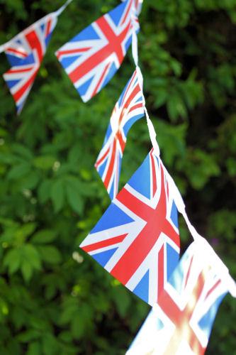 Union Jack bunting 1857 R