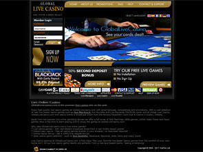 Global Live Casino Home