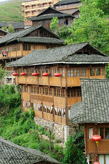 Ping'an Village (SewerDoc (200 Explores)) Tags: buildings wooden asia village rice guilin terraces minority riceterraces yangshou guanxi longji pingan longii pinganvillage zhuangpeople sewerdoc jaredfein longiiricefields