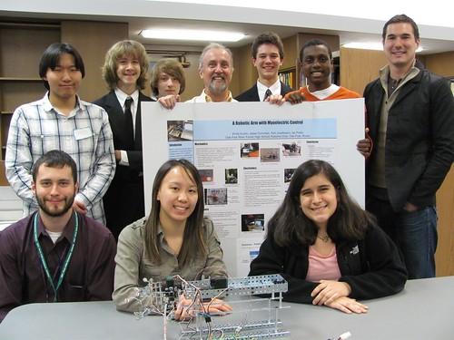 Our VEX Robotics grads win big with their robotic arm - Oak Park
