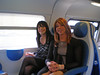 On the train with Luisa (Starrynowhere) Tags: public outdoors emma tgirl transvestite transgendered luisa crossdresser starrynowhere