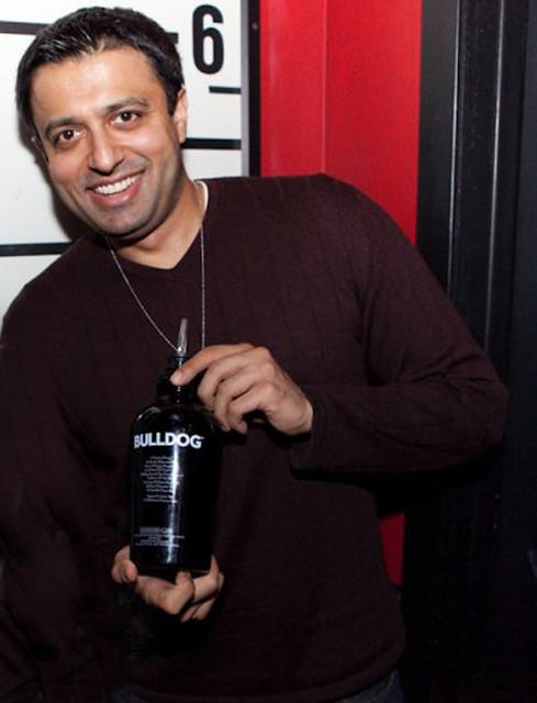 Anshuman Vohra, creador de Bulldog Gin