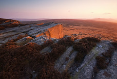 Three Peaks (andy_AHG) Tags: sunset rural outdoors evening spring rocks derbyshire peakdistrict scenic moors pennines darkpeak stanageedge britishcountryside northernengland landscapephotography beautifullandscapes highneb easternedges stanageend crowchin