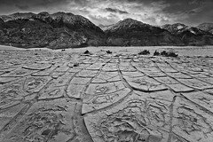 weathered... (Mac Danzig Photography) Tags: california blackandwhite mountains landscape death sand desert valley saline inyo tnc11