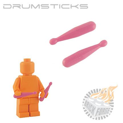 Drumsticks - Dark Pink (pair)