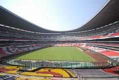 Primer día de montaje - Estadio Azteca 06