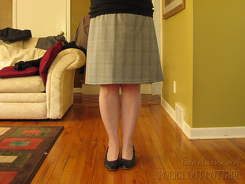 New wrap skirt