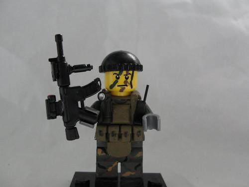 Custom minifig US Navy Seal