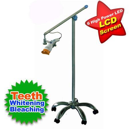 Dental Teeth Whitening Light Bleaching 6 LED Floor Type