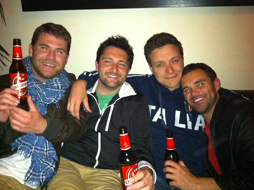 Colin, Nick, Rob, & Alex by currtdawg